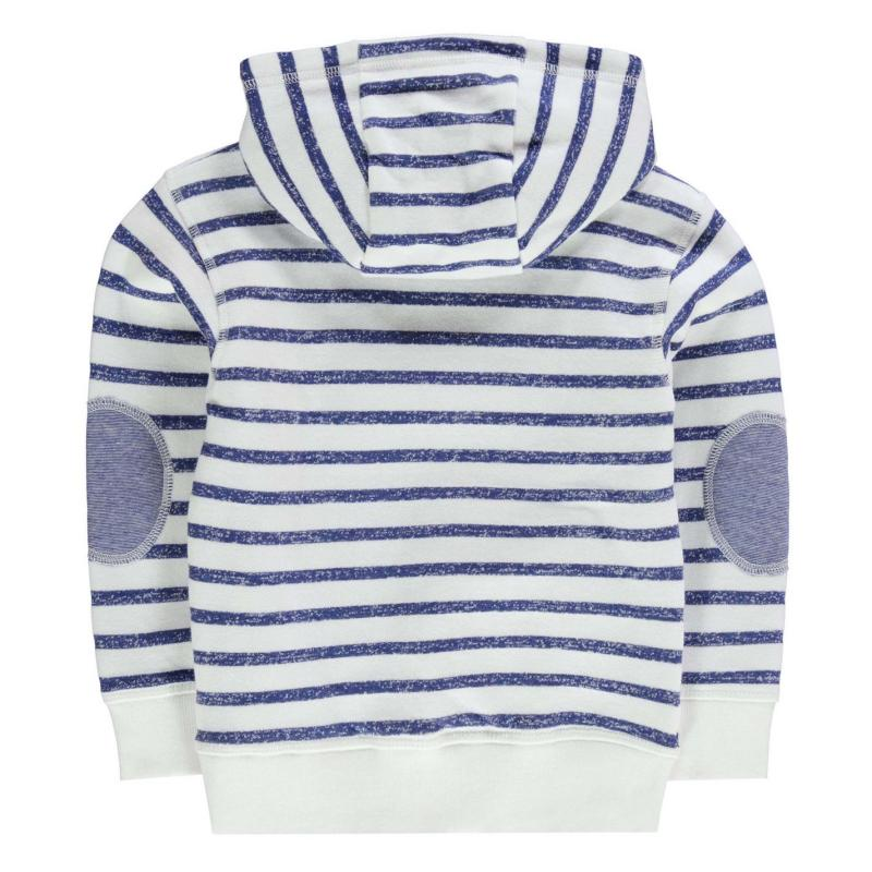 Mikina Crafted OTH Hoody Infant Boys Oatmeal Stripe