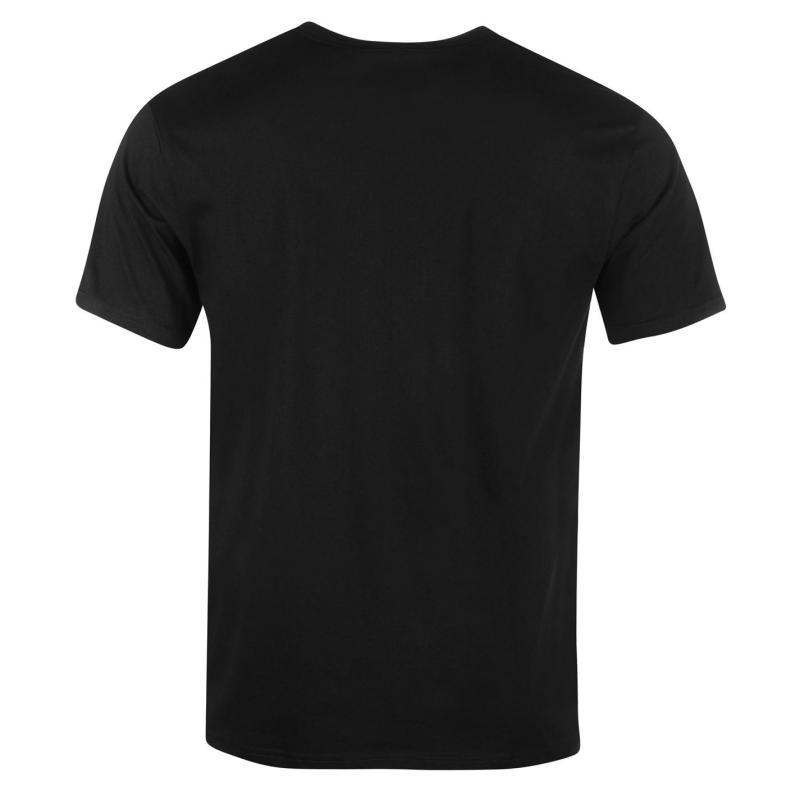 Tričko DC South Town Short Sleeve T Shirt Mens Black