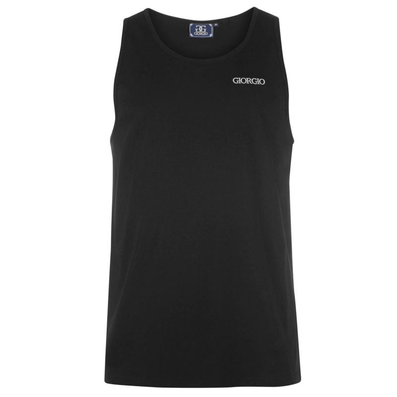 Giorgio Essential Vest Mens Black
