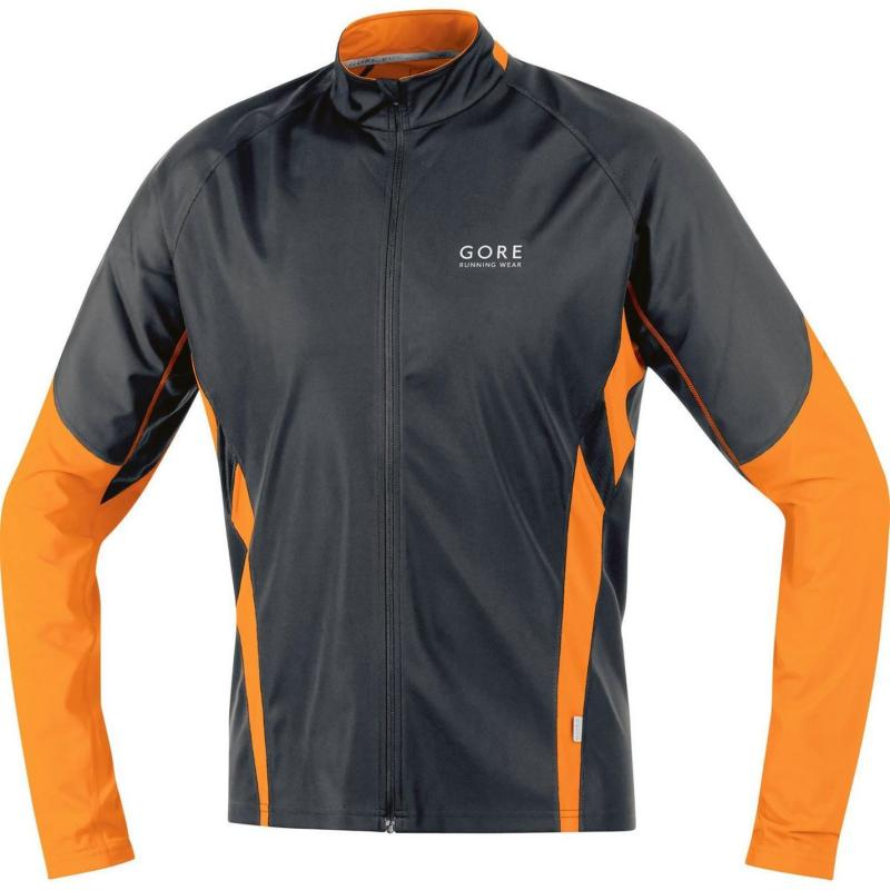 Gore Air Wind Stopper Jacket Mens Fluo Yell/Black