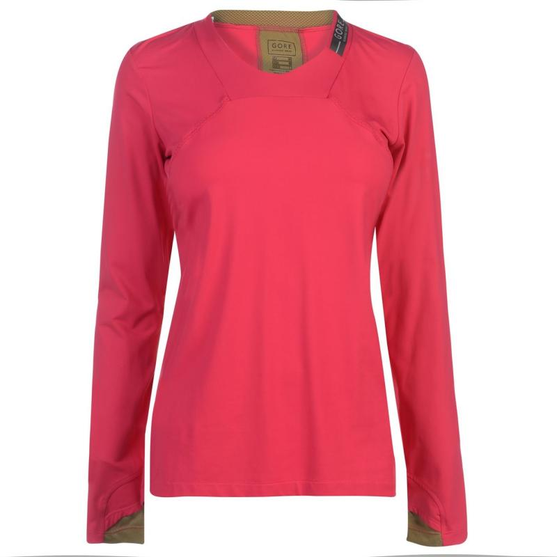 Gore Running Wear Air Lady Top Ladies Pink/olive