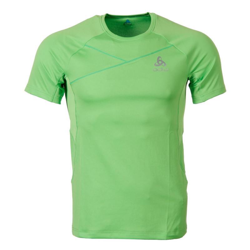 Tričko Odlo T Shirt SS Rama Sn43 Green flash