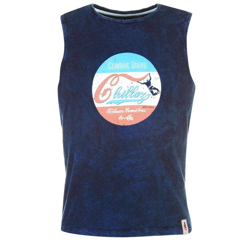 Chillaz Calanq T Shirt Mens Blue