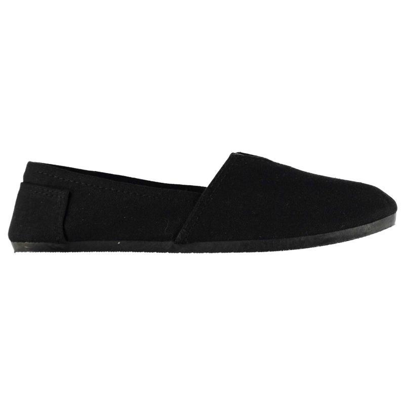 Boty Giorgio Canvas Sams Junior Shoes Black