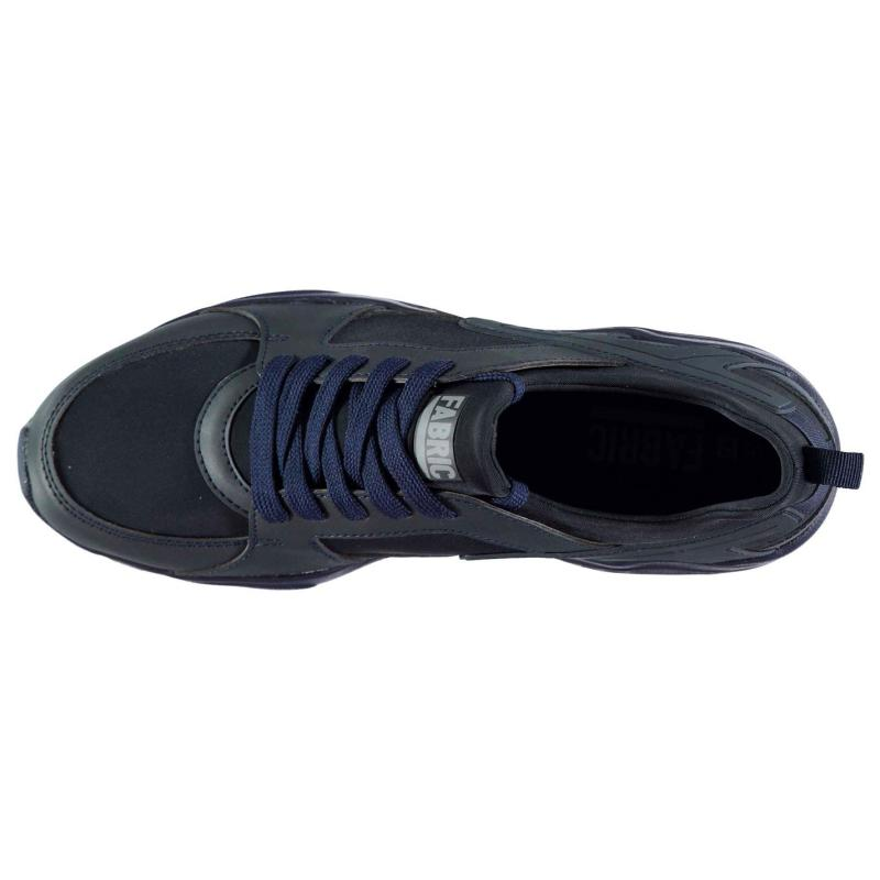 Fabric Himroo Mens Trainers Navy/Navy
