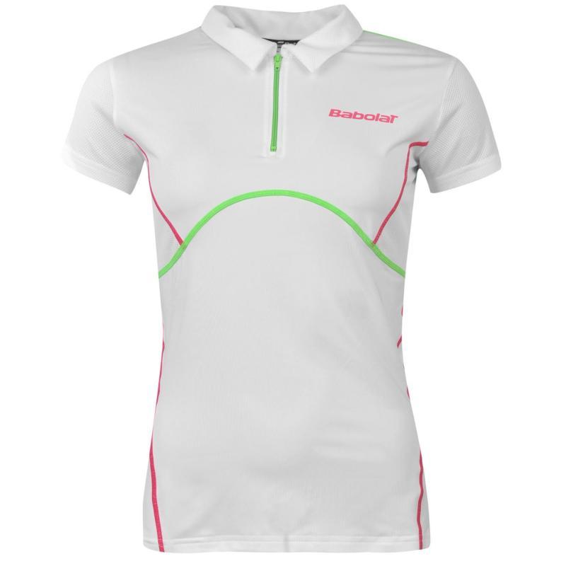 Polokošile Babolat Match Performance Ladies Tennis Polo White