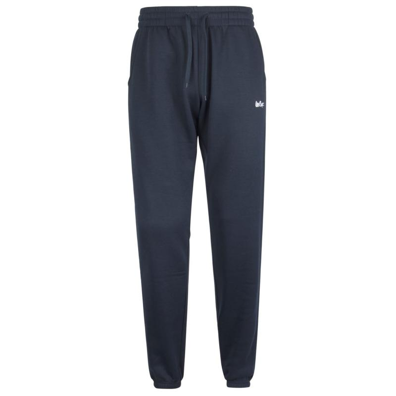 Tepláky Lee Cooper Fleece Jogging Bottoms Mens Navy