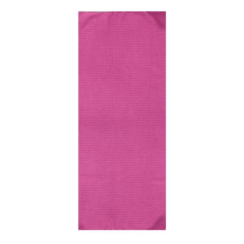 USA Pro Micro Gym and Yoga Towel Purple/Grey