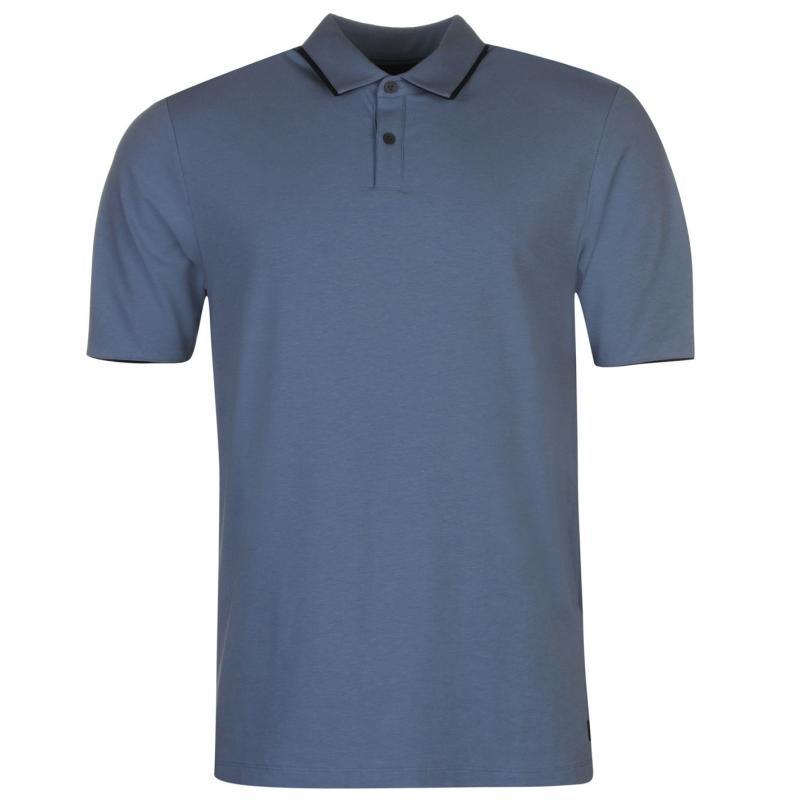 Ashworth Piped Golf Polo Shirt Mens White