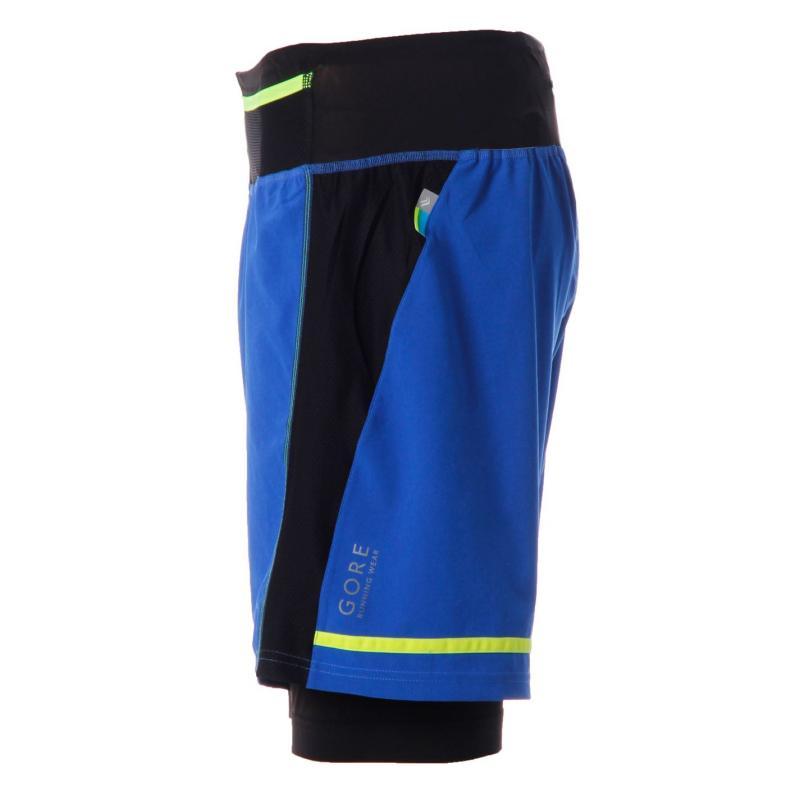 Gore XRun Ultra Shorts Mens Blue/Black