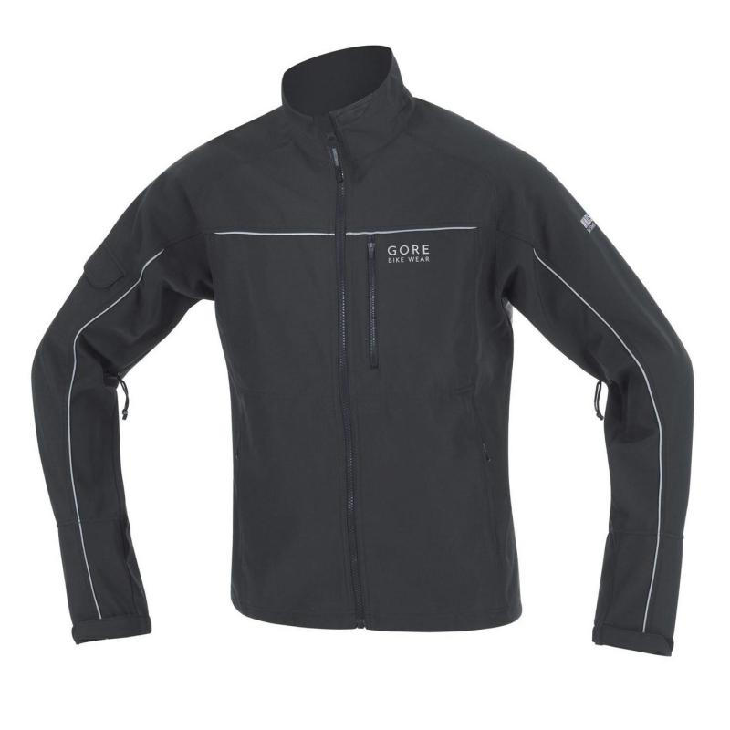 Gore Cosmo So Cycling Jacket Mens Black/White