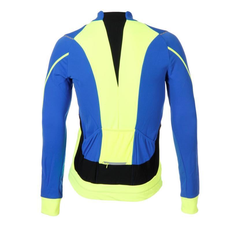 Tričko Gore Oxygen Running Jersey Mens Blue/Yellow