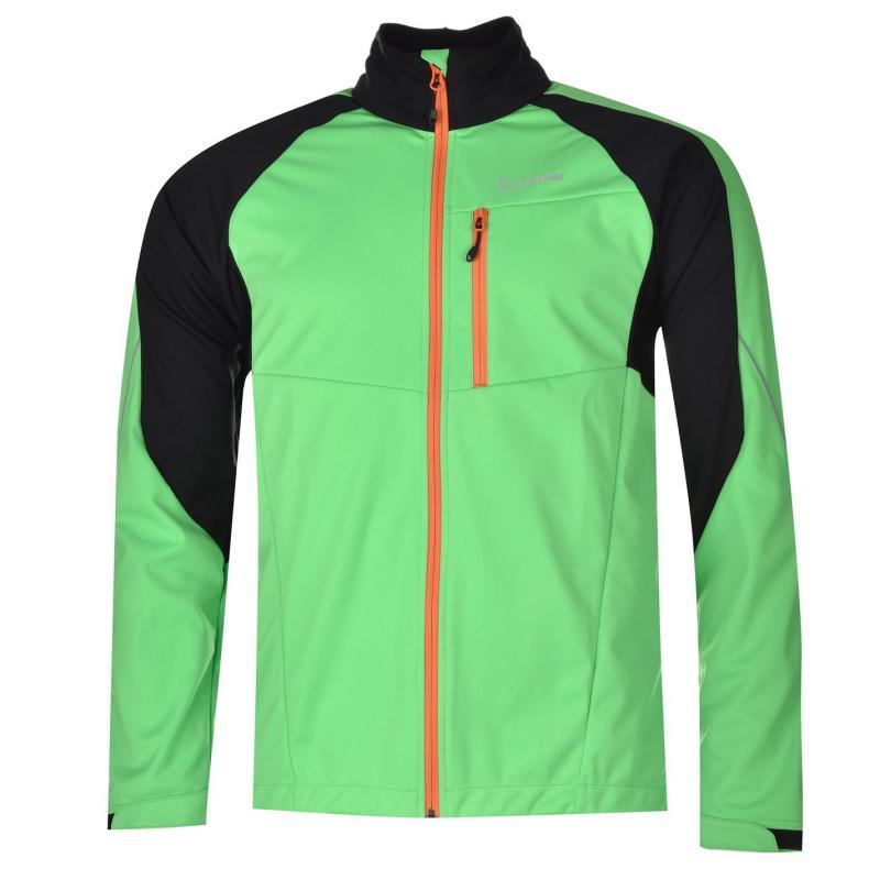 Löffler Slight Cycle Jacket Mens Green/neongreen