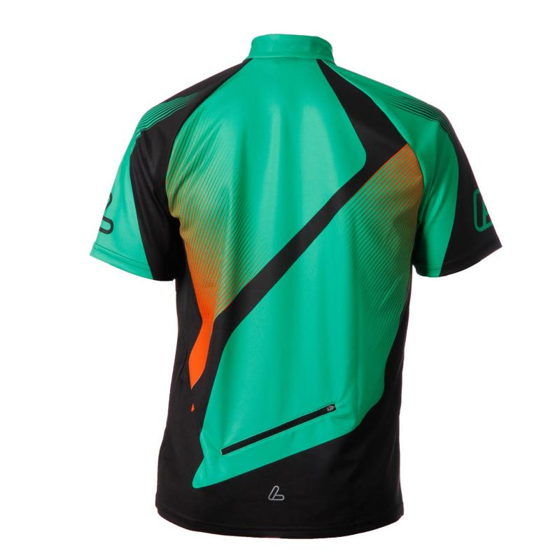 Tričko Löffler Tri Active Half Zip Cycling Jersey Mens Green