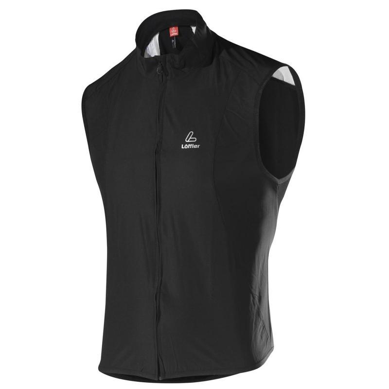 Tričko Löffler Vest Mens Black
