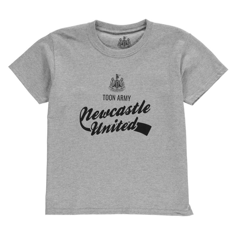 Tričko NUFC Graphic T Shirt Junior Royal