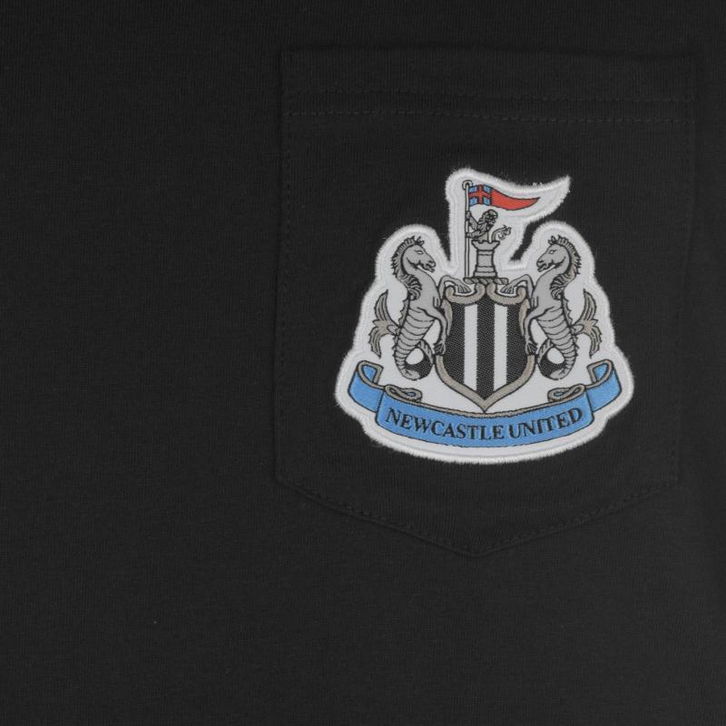 Tílko NUFC Newcastle United Muscle Vest Mens Black