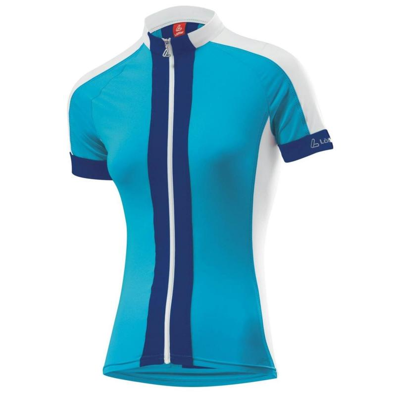Löffler Hot Bond Cycling Jersey Ladies Azure