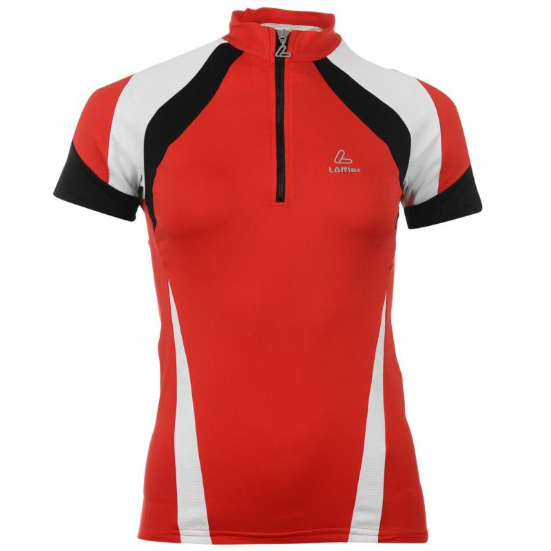 Löffler Ladies Cycling T Shirt Red