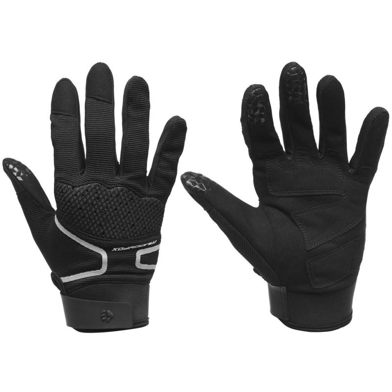Muddyfox Mountain Biking Gloves Black/Grey/Red