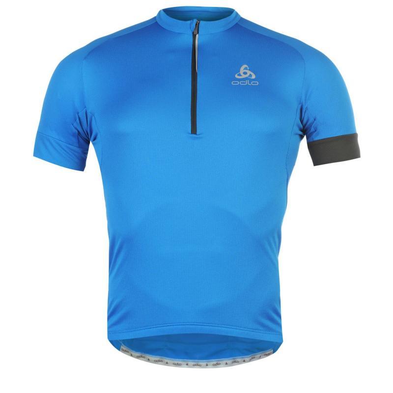 Tričko Odlo Isola Cycling Jersey Mens Blue