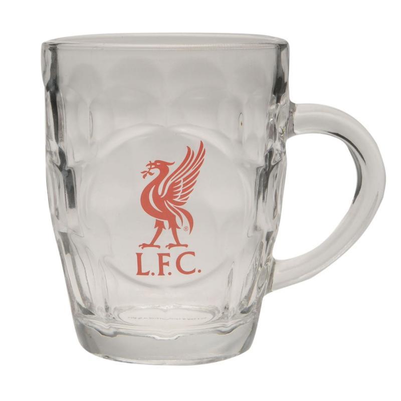 Team Pint Glass Liverpool