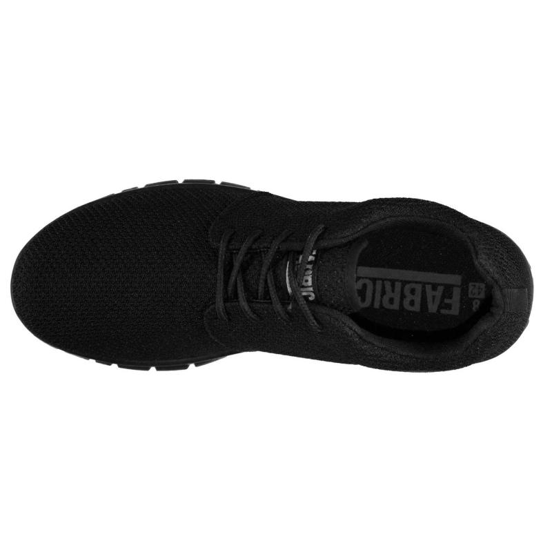 Fabric Mercy Run Trainers Black/Black