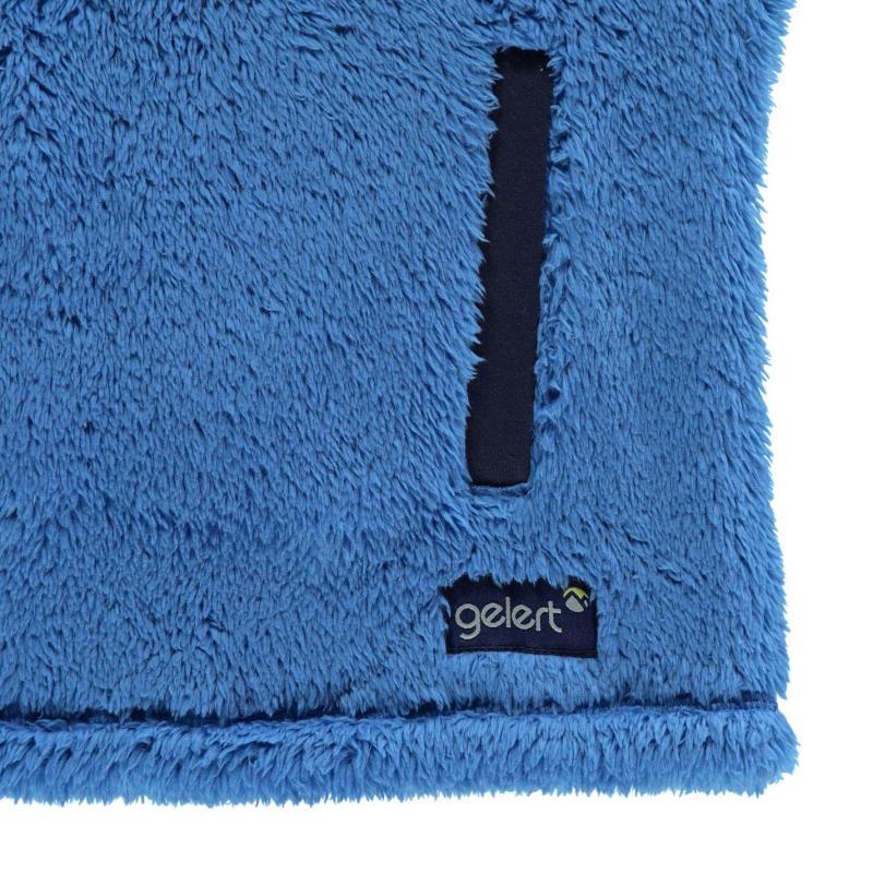Gelert Yukon Micro Fleece Top Juniors Blue