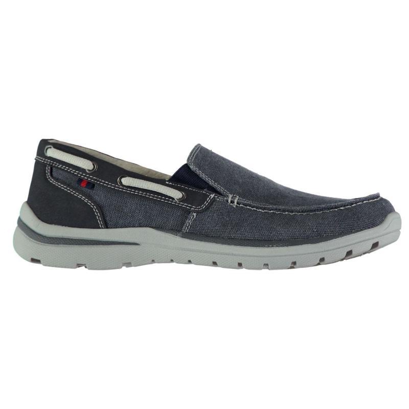 Kangol Brabo Slip On Mens Shoes Navy