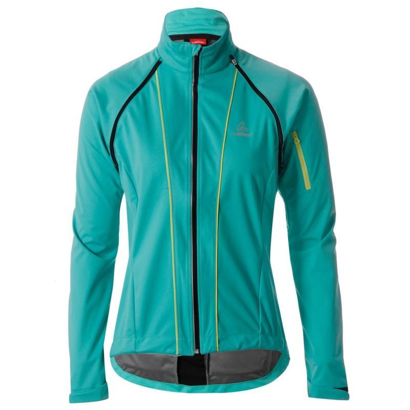 Löffler Zip Off Cycle Jersey Ladies Mint/Jade