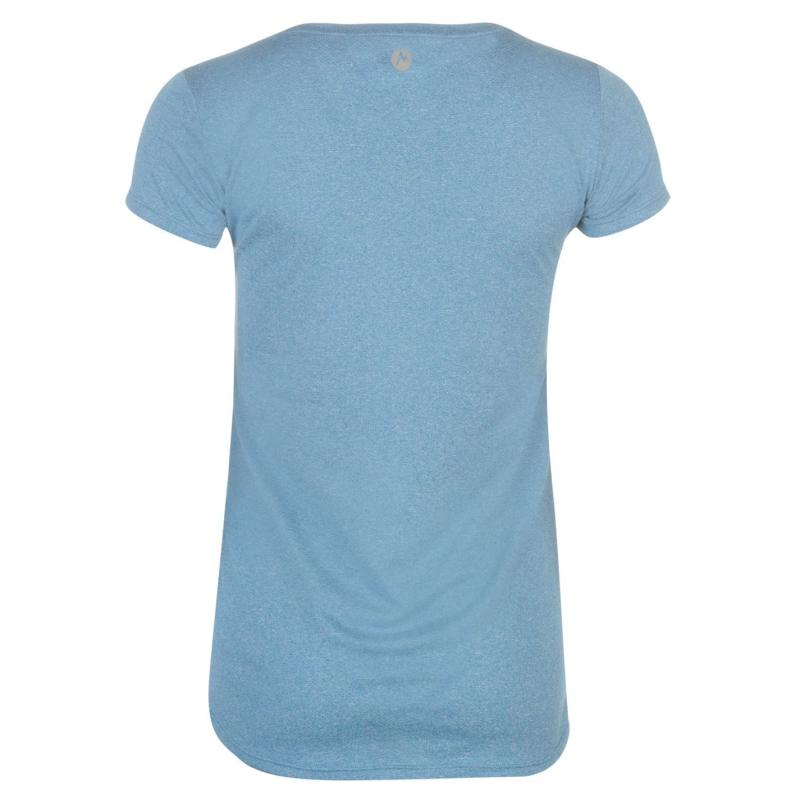 Košile Marmot Post Time T Shirt Ladies State Blue