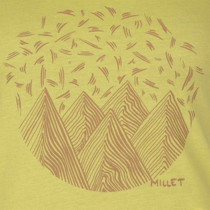 Millet Camp T Shirt Ladies Yellow