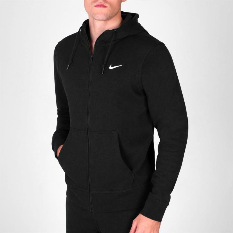 Mikina Nike Fundamentals Full Zip Hoody Mens Grey