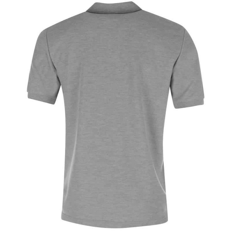 NUFC United FC Core Polo Shirt Mens Grey Marl