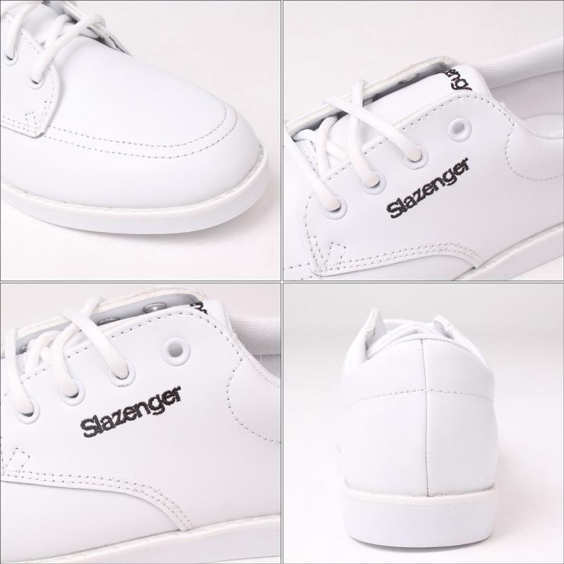 Slazenger Ladies Bowls Shoes White