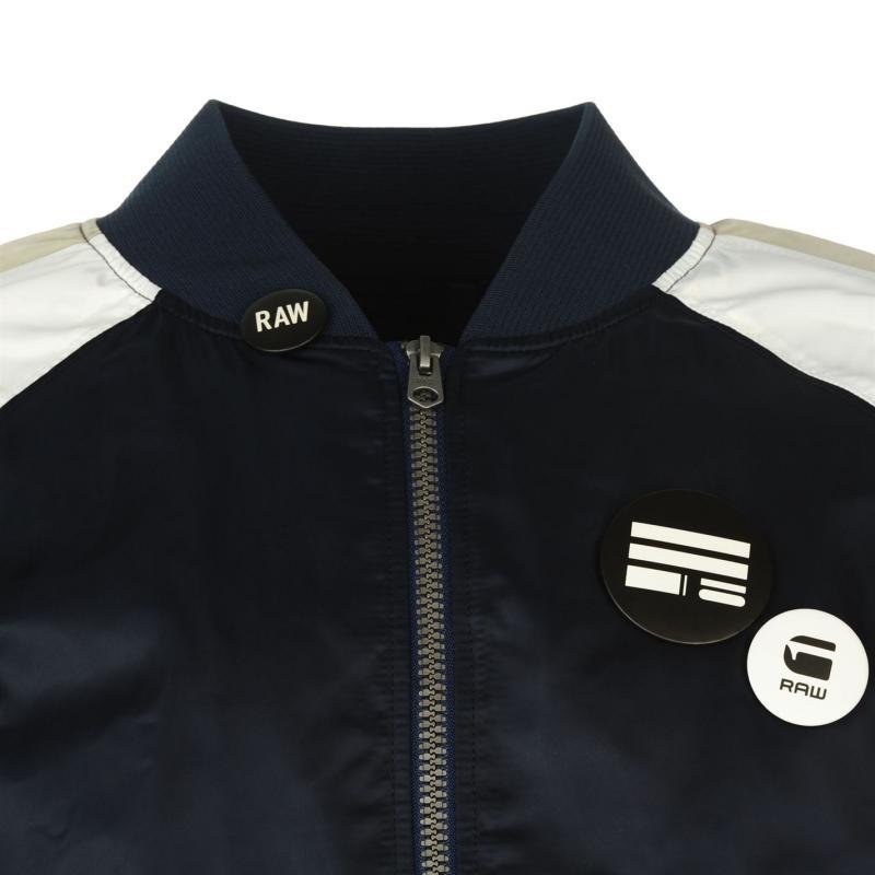 G Star Attacc Mens Bomber Jacket Sapphire Blue