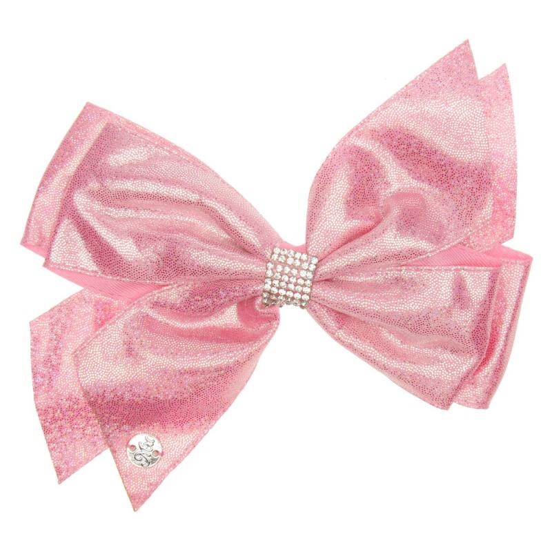 Miso MiMi Hair Bow Junior Girls Metalic Pink
