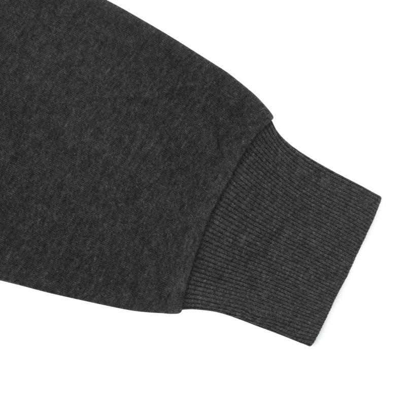 Lee Cooper Full Zip Fleece Jacket Mens Grey Marl