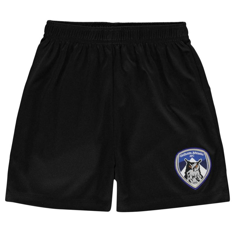 Kraťasy Team Oldham Athletic Core Shorts Infant Boys Royal
