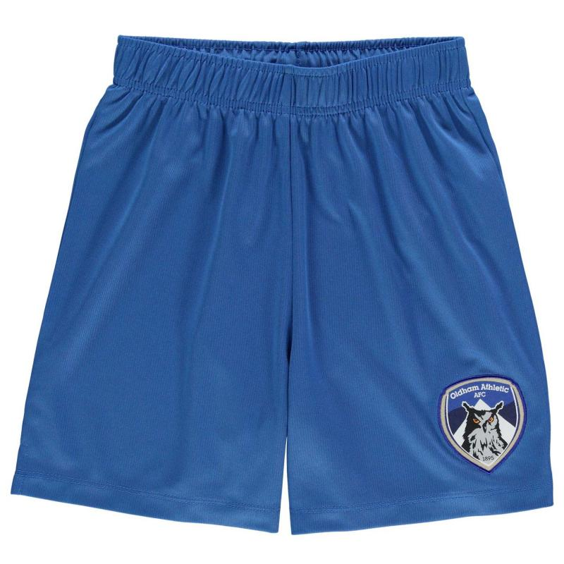 Kraťasy Team Oldham Athletic Core Shorts Junior Boys Royal