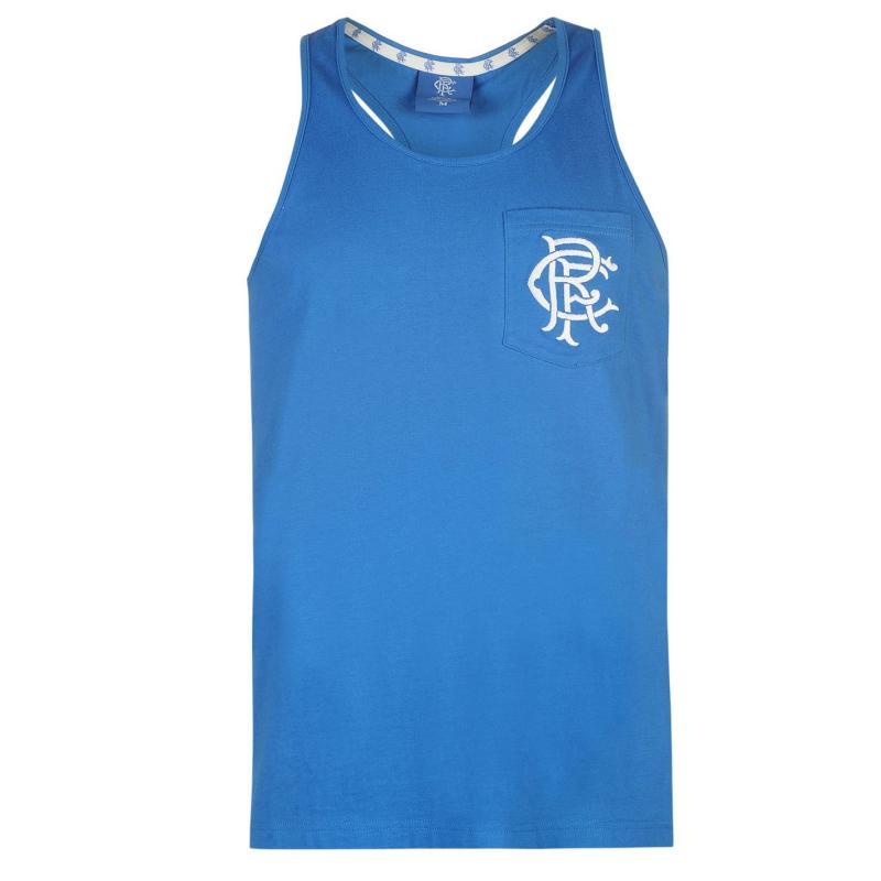 Tílko Team Rangers Muscle Vest Mens Royal