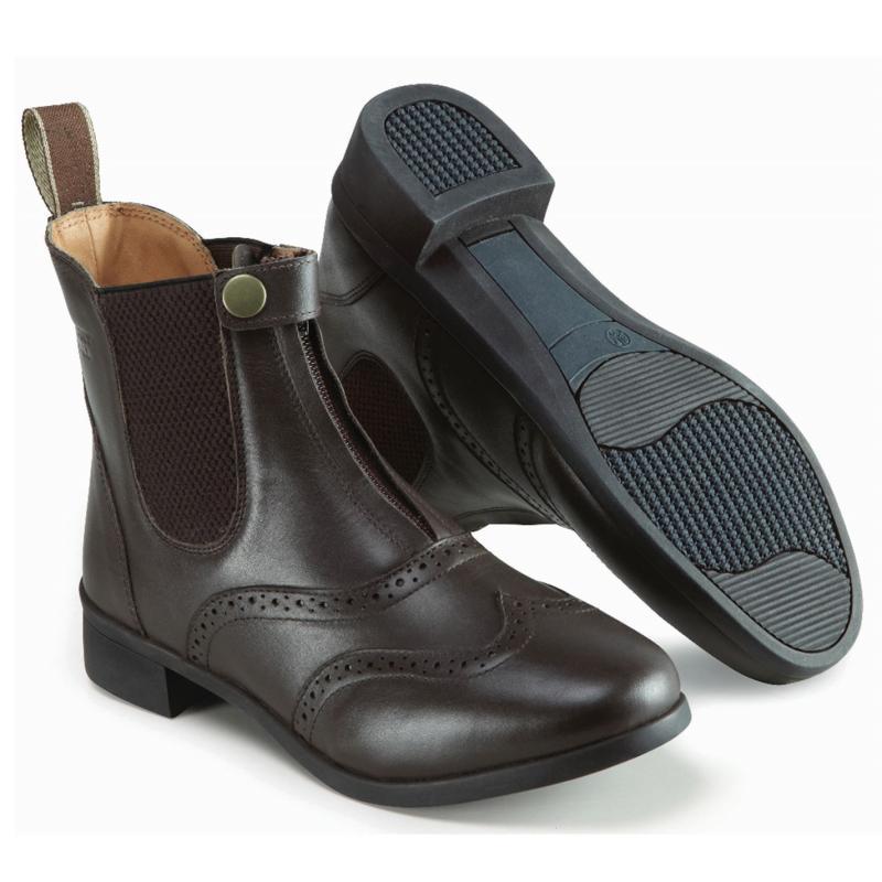 Harry Hall Eston Paddock Boot Ladies Brown