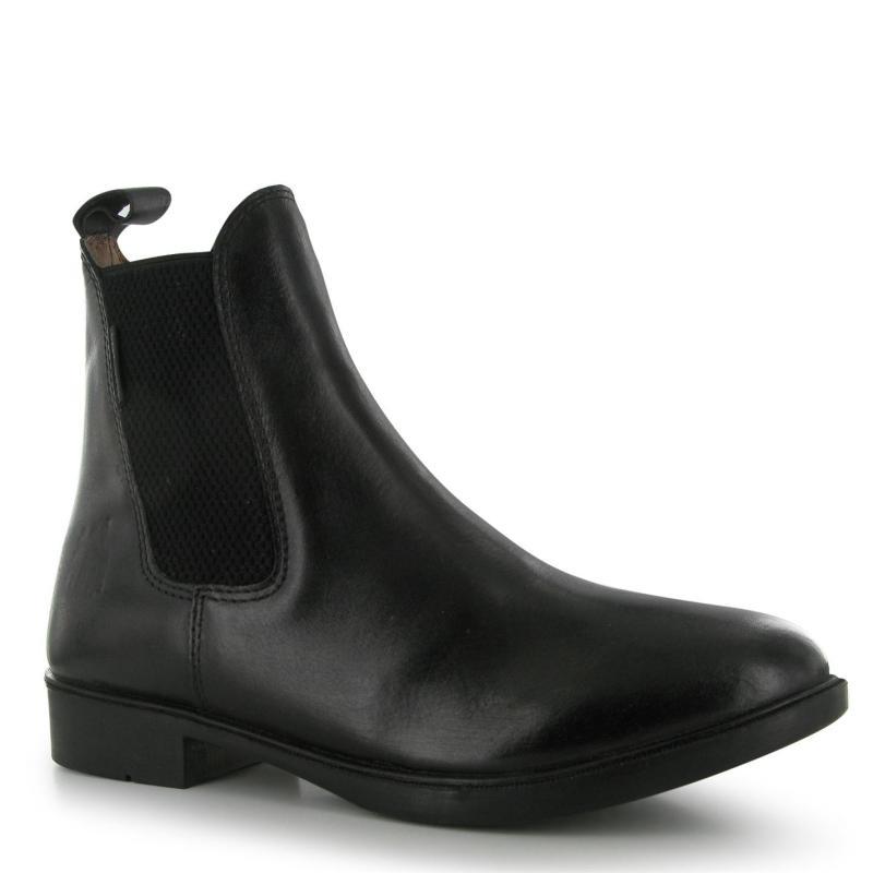 Harry Hall Silvio Childrens Jodhpur Boots Black