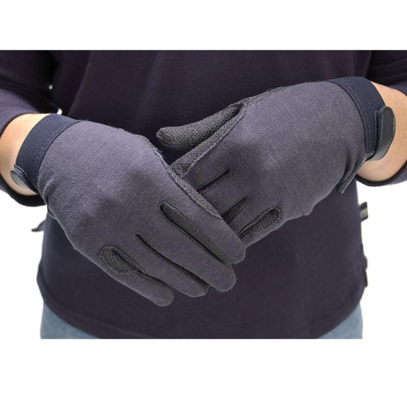 Requisite Cotton Grip Riding Glove Ladies Navy