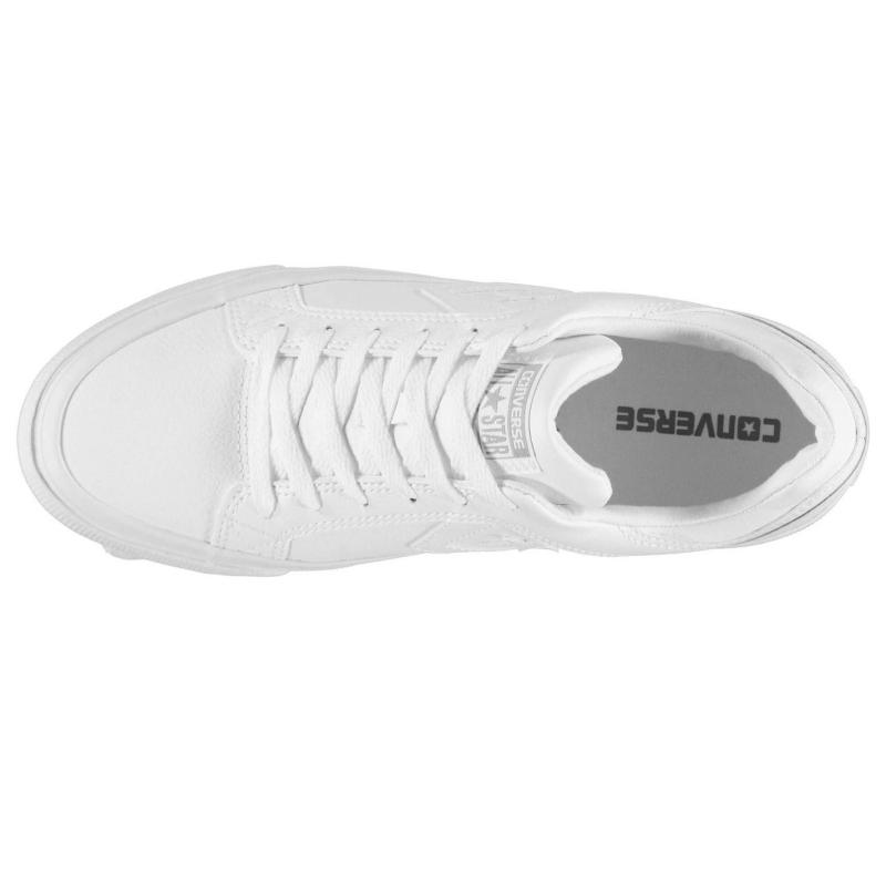 Boty CONS Distrito Leather Low Trainers White/Dolphin