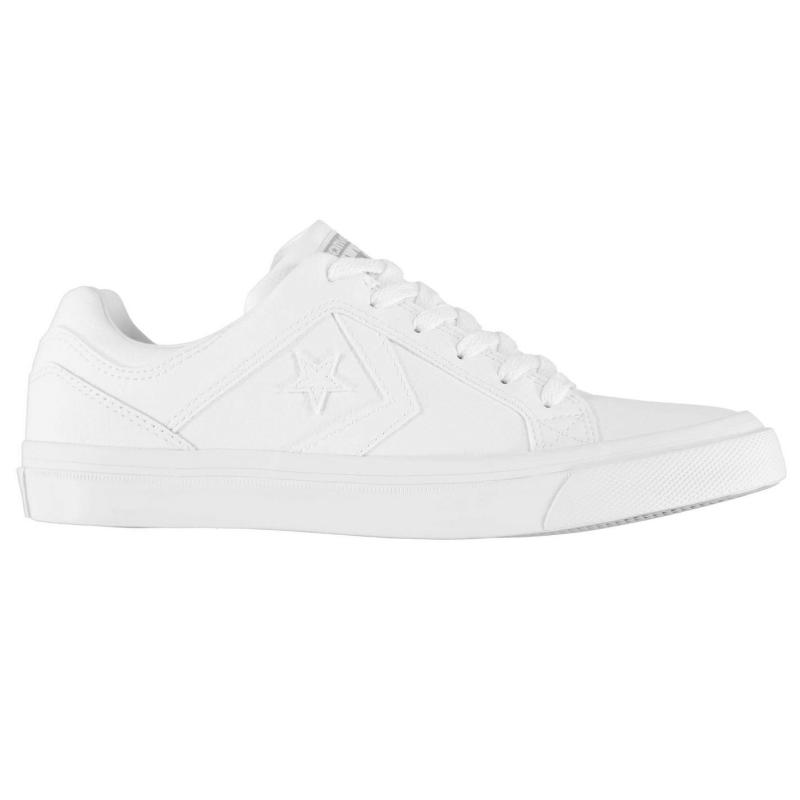CONS Distrito Leather Low Trainers White/Dolphin
