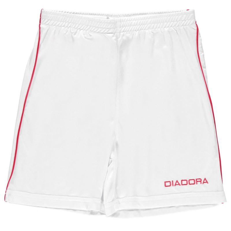 Kraťasy Diadora Madrid Shorts Junior Boys Orange/White