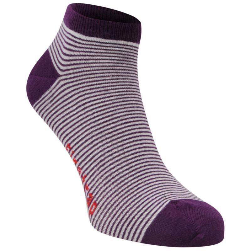 Ponožky Firetrap 2 Pack Trainer Socks Mens Womens Design