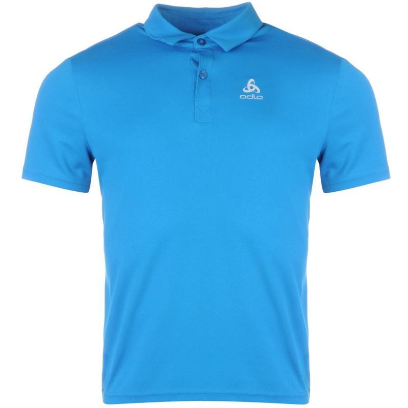 Odlo Cardada Polo Shirt Mens Blue