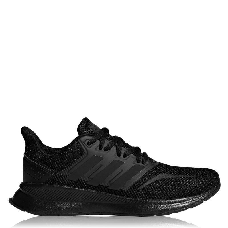 Boty adidas Falcon Childrens Trainers Core Black / Co